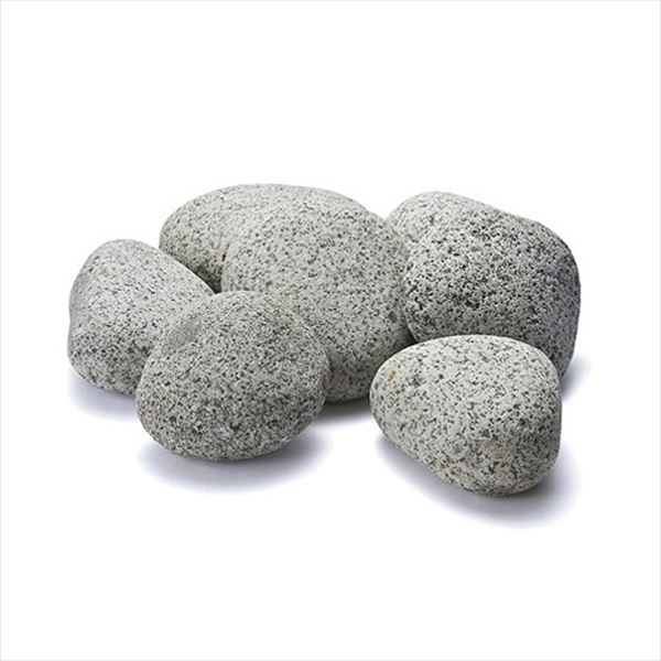 『個人宅配送不可』オンリーワン ゴロタ石 白鼠 1袋(18kg) NH2-SNG-100