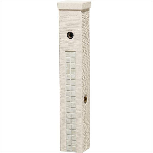 ユニソン ファミエンテスタンド 2口 ミルキーホワイト 『水栓柱・立水栓 *蛇口は別売り』
