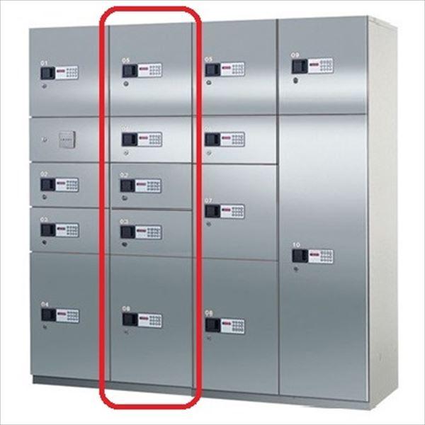 ナスタ 宅配ボックス 屋内用 コンピューター式 Bユニット ステンレス扉 前入れ前出し KS-TLH18-SB ※こちらのユニットだけの設置は出来ません。『マンション用』