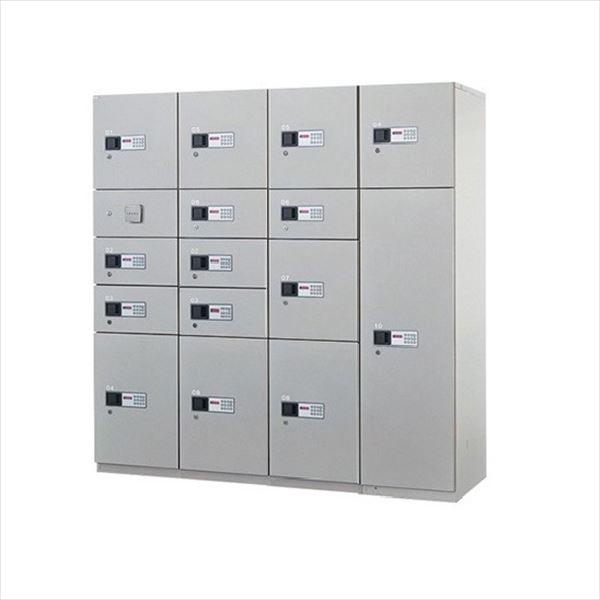 ナスタ 宅配ボックス 屋内用 コンピューター式 標準セット 4列15ボックス スチール扉 前入れ前出し『マンション用』