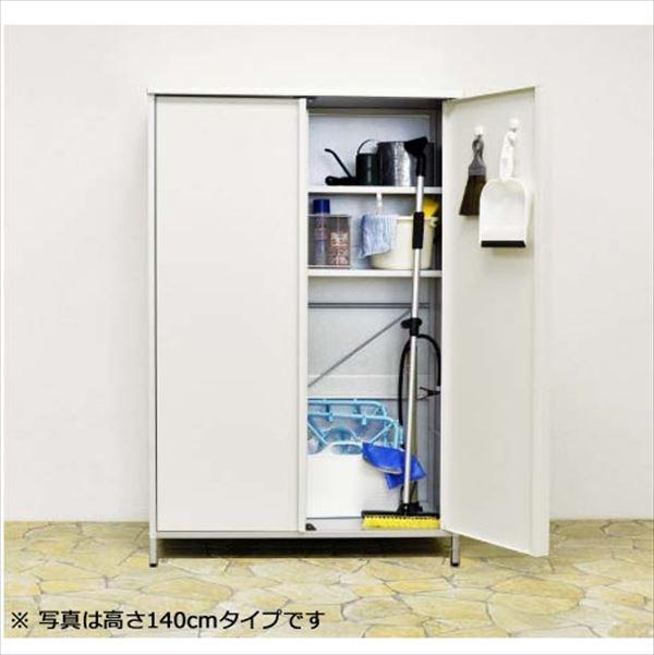『欠品中 次回入荷未定』足立製作所 ガルバ製物置レギュラー 1795 高さ168cm   『小型 物置 屋外 DIY向け』