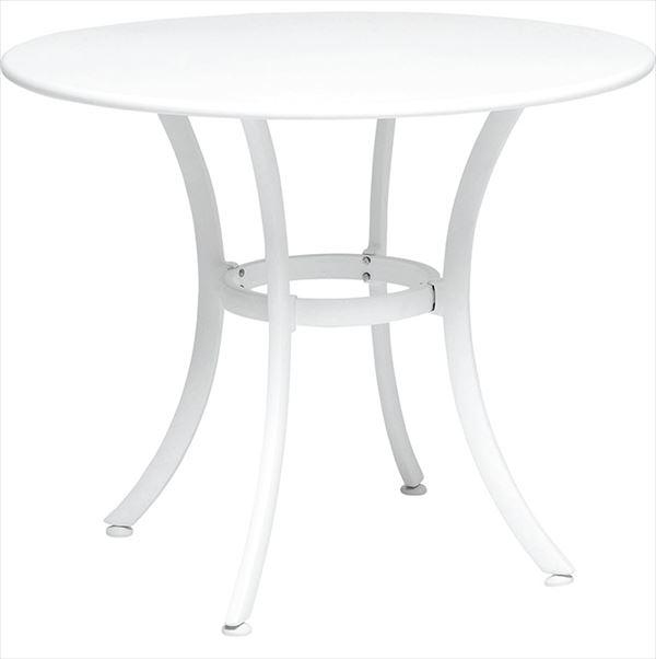 ニチエス TAPAS タパス ガーデンテーブル φ90 / ホワイト