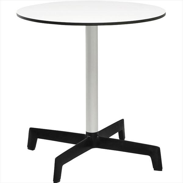 ニチエス D.d ディーディー スプートニクテーブル φ70 / ホワイト天板+ブラックベース