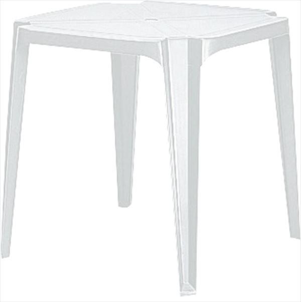 ニチエス GROSFILLEX ゴーフィレックス サンテーブル70×70 / 004ホワイト