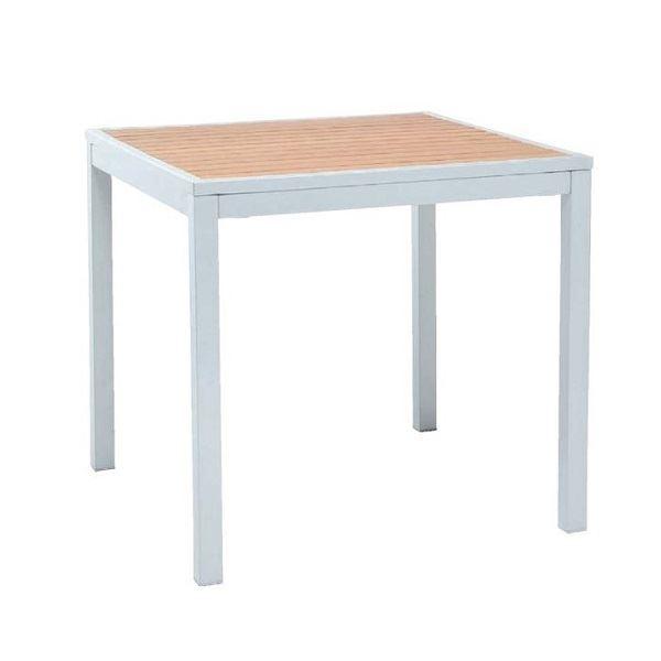 ニチエス TAPAS タパス MDTテーブル 80×80 / チーク色