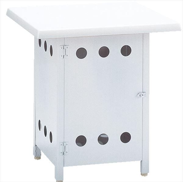 ニチエス BARBECUEGRILL バーベキューグリル ボンベ収納サイドテーブル NBST-6×6
