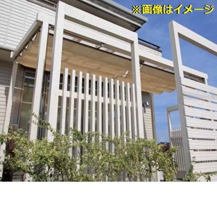 おすすめネット クリアマット:エクステリアのプロショップ キロ タカショー Sポーチ 壁付タイプ 1間×4尺 *シェード・正面フレームは別売りです-エクステリア・ガーデンファニチャー