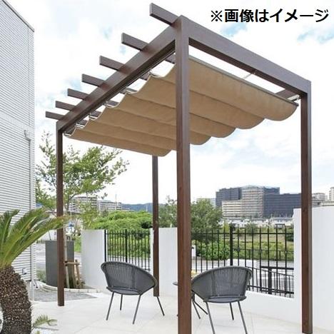 100%正規品 タカショー パーゴラ・ポーチ 独立タイプ 1間×9尺 *シェードは別売 ウッド:エクステリアのプロショップ キロ-エクステリア・ガーデンファニチャー
