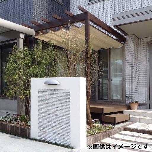 タカショー パーゴラ・ポーチ 壁付タイプ 1.5間×9尺 *シェードは別売 ステン