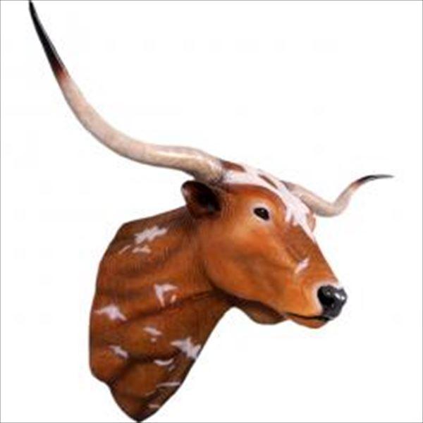 FRP ロングホーン / Texas Long Horn 『動物園オブジェ アニマルオブジェ 店舗・ホテル向け』
