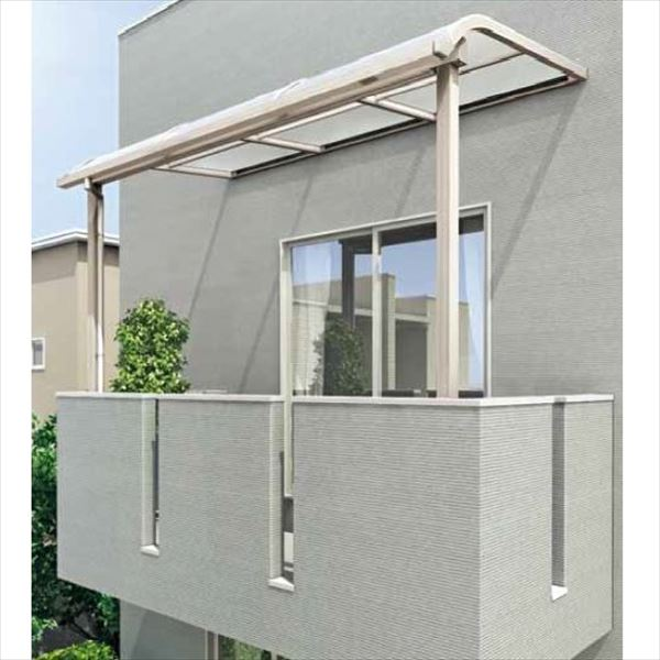 キロスタイル-IS モダンルーフMR75 基本セット 標準柱仕様 奥行移動桁 単体 1階用 幅3000mm×9尺(2675mm) ポリカ屋根