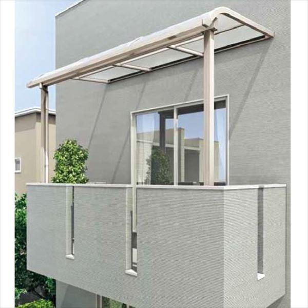 キロスタイル-IS モダンルーフMR75 基本セット 標準柱仕様 奥行移動桁 単体 2階用(バルコニー用) 幅2000mm×4尺(1175mm) ポリカ屋根