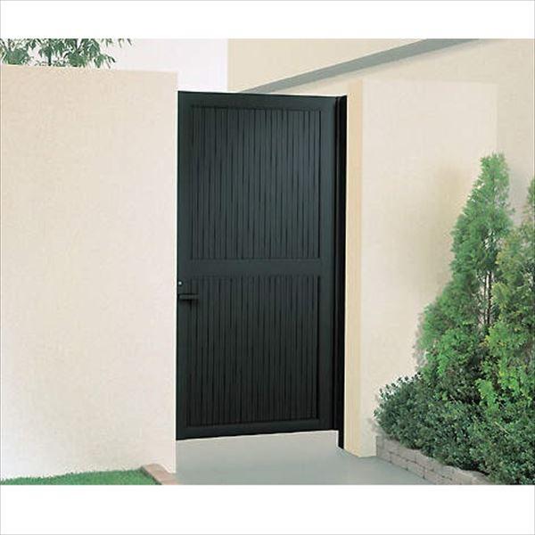 大規模セール 送料無料 四国化成 品質とお求めやすさを追求した形材門扉の決定版 クレディ門扉 片開き 年末年始大決算 7型 1020 柱仕様