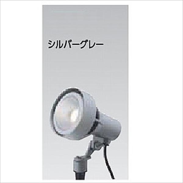 タカショー ウォールスポットライト(100V) シンプルLED スポットライト3型 中角 #71447600 HFE-D60S シルバーグレー/LED色:電球色