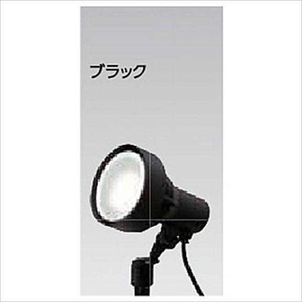 タカショー ウォールスポットライト(100V) シンプルLED スポットライト3型 広角 #71460500 HFE-W61K ブラック/LED色:白色