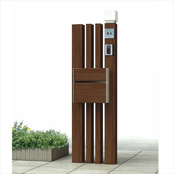 YKKAP 機能門柱 カスタマイズポストユニット Basic12