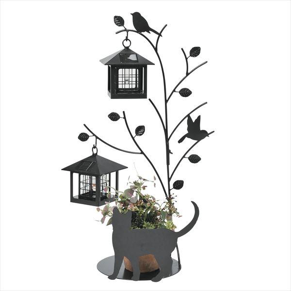 セトクラフト シルエットソーラー 屋外 おしゃれ Tree&Cat 2灯 SI-1956-1300