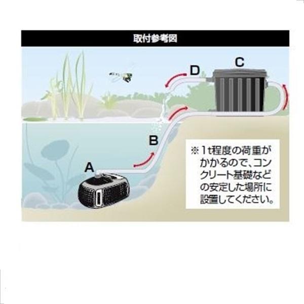 グローベン 浄化システム クリーンポンド用ポンプセット C50TFS275