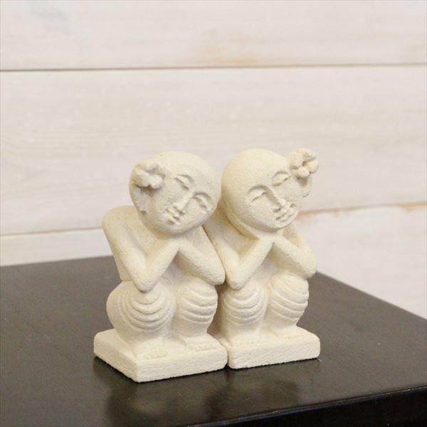 『個人宅配送不可』SIP バリ島 石像 バリニーズ ペア