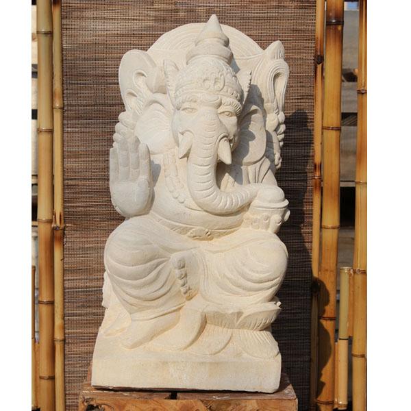 『個人宅配送不可』SIP バリ島 石像 ガネーシャ