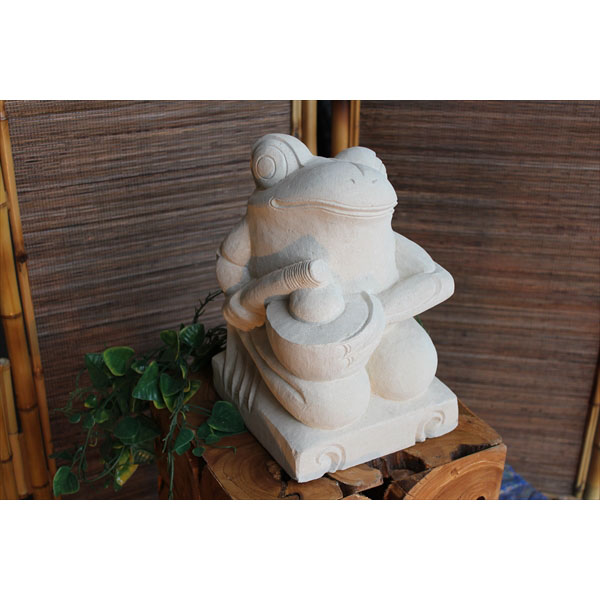 SIP バリ島 石像 カエル音楽隊 KAERUM-01