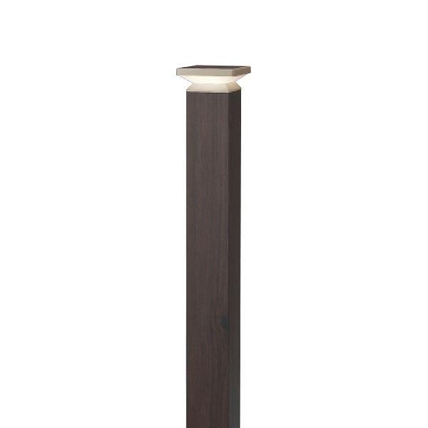 タカショー ポールライト(ローボルト) エバーアートポールライト 4型 #73851900 HBC-D55P ダークパイン