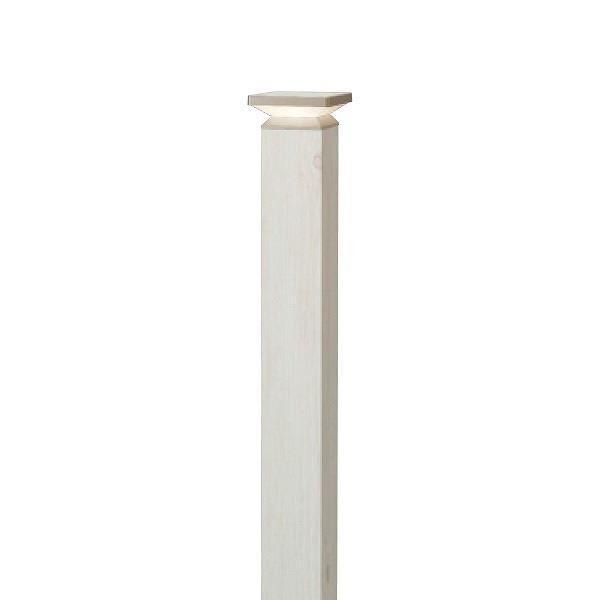 タカショー ポールライト(ローボルト) エバーアートポールライト 4型 #73855700 HBC-D55W ホワイトパイン