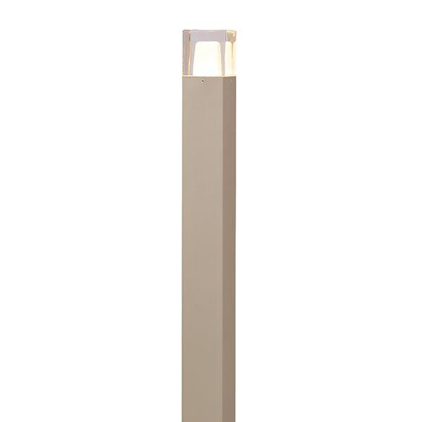 タカショー ポールライト(ローボルト) エクスレッズポールライト 2型(LED色:電球色) 12V用 #73411500 HBC-D38G 『ローボルトライト』 『エクステリア照明 ライト』 グレイッシュゴールド