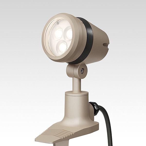 タカショー 調光ライト(ローボルト) De-SPOT 調光リング ローボルト 広角 #73736900 HBB-D27G 『ローボルトライト』 『エクステリア照明 ライト』 グレイッシュゴールド