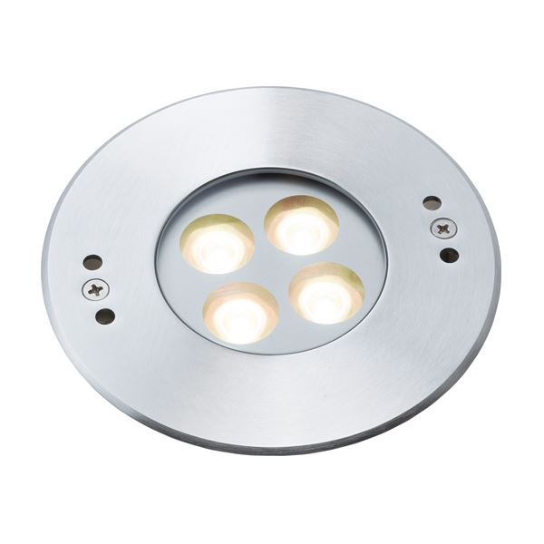 タカショー ウォーターライト(ローボルト) グランドライト 8型 水中仕様(LED色:電球色) #73077300 HHA-D07S シルバー