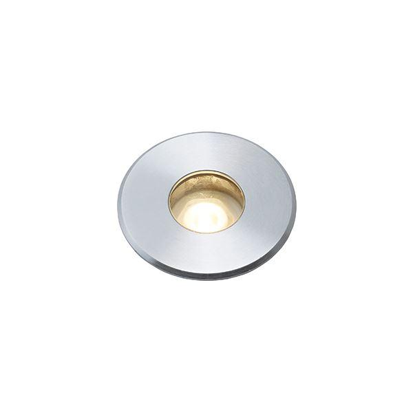 タカショー ウォーターライト(ローボルト) グランドライト 7型 水中仕様(LED色:電球色) #73076600 HHA-D06S シルバー