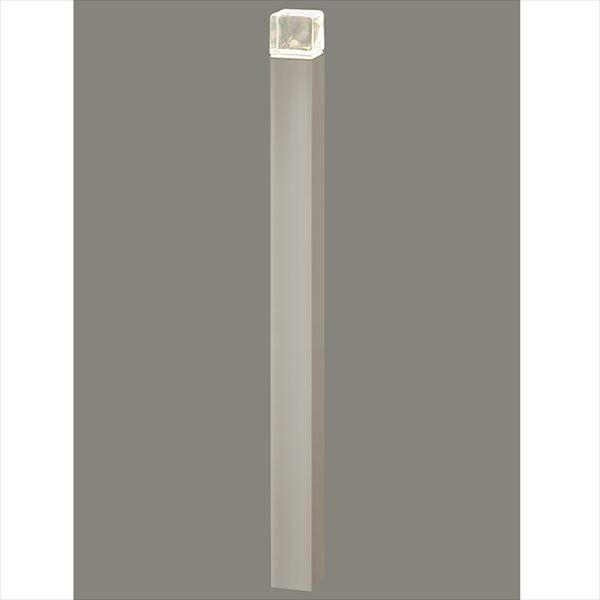 リクシル 12V 美彩 ローポールライト 角形/透過型 H700 『ローボルトライト』 『エクステリア照明 ライト』 ポール:シャイングレー/灯具:シャイングレー