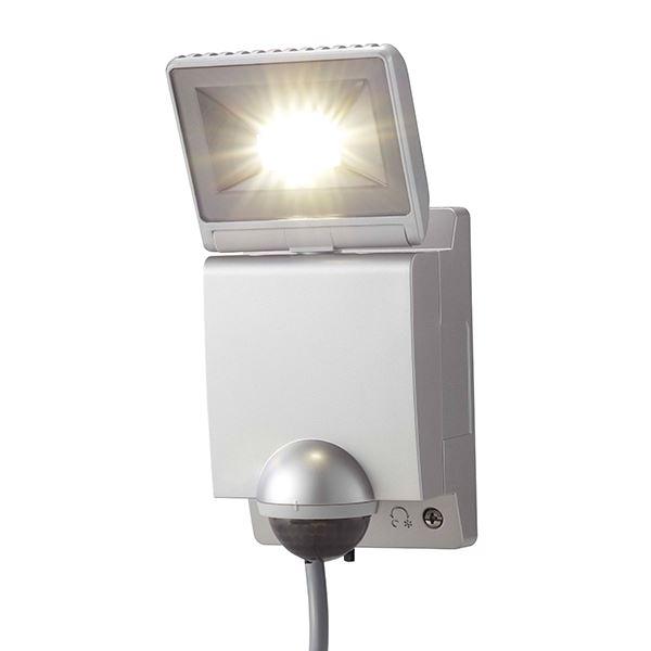 タカショー セキュリティライト(100V) LEDセンサライト 1型 #61912200 HIA-W01S シルバー