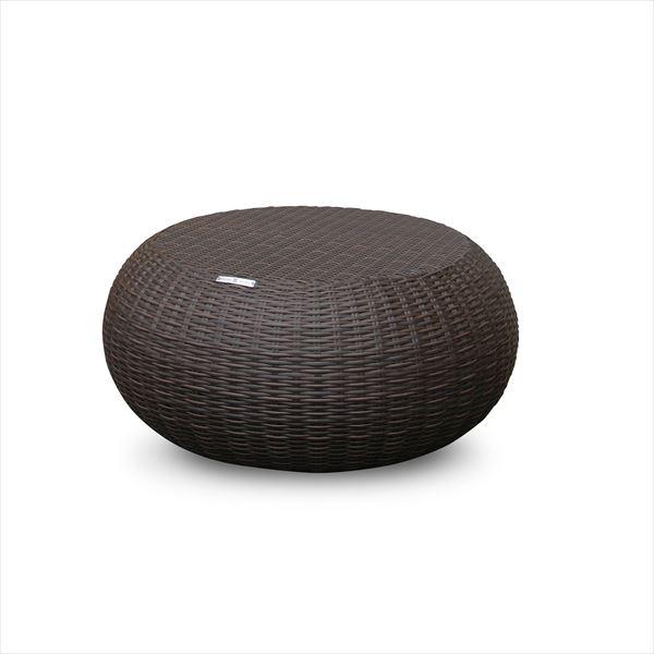 かじ新 RAUCORD COSTA コーヒーテーブル 『ガーデンテーブル ガーデンファニチャー』 ダークブラウン