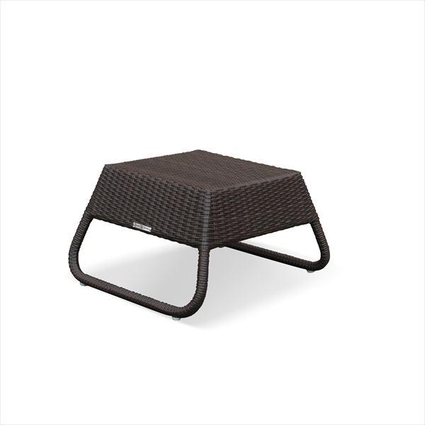 かじ新 RAUCORD CAPO サイドテーブル 『ガーデンテーブル ガーデンファニチャー』 ダークブラウン