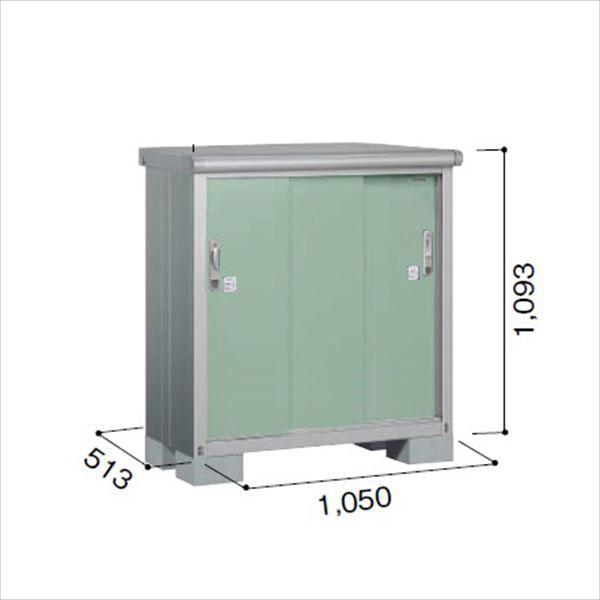 ヨドコウ ESE/エスモ ESE-1005Y EG 小型物置  『追加金額で工事も可能』 『屋外用収納庫 DIY向け ESD-1005Yのモデルチェンジ』 エバーグリーン