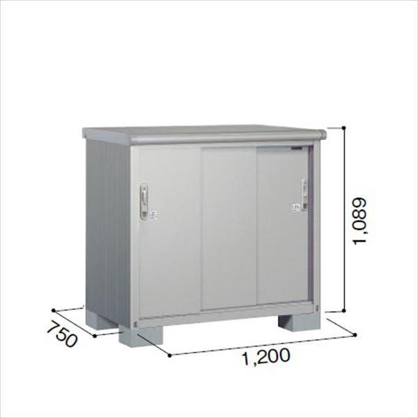 ヨドコウ ESE/エスモ ESE-1207Y SS 小型物置  『追加金額で工事も可能』 『屋外用収納庫 DIY向け ESD-1207Yのモデルチェンジ』 スノーシルバー