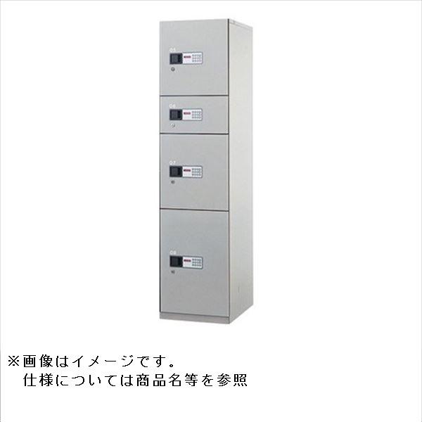ナスタ KS-TLH-18-C 宅配ボックス 前入前出タイプ コンピュータ式 スチール扉 ユニットタイプC『マンション用』