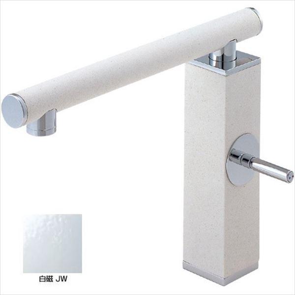 三栄水栓製作所 水栓金具 TOH KITCHEN K87310JV-JW-13 白磁 *受注生産品です