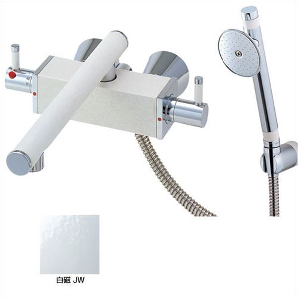 三栄水栓製作所 水栓金具 TOH BATHROOM SK2830-JW-13 白磁 *受注生産品です