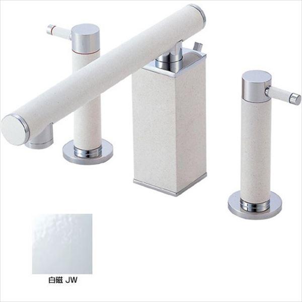三栄水栓製作所 水栓金具 TOH BASIN K55300P-JW-13 白磁 *受注生産品です