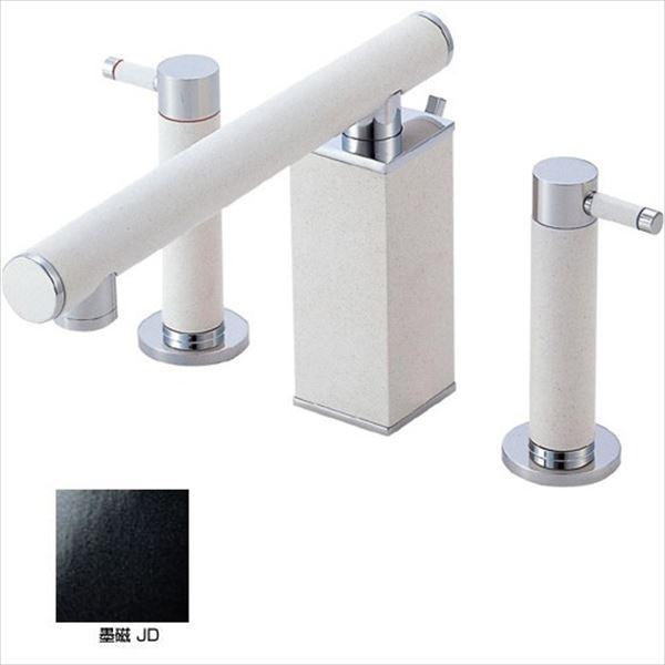 三栄水栓製作所 水栓金具 TOH BASIN K55300P-JD-13 墨磁 *受注生産品です