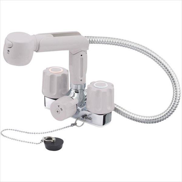 三栄水栓製作所 水栓金具 U-MIX BASIN K3104VR-LH-13