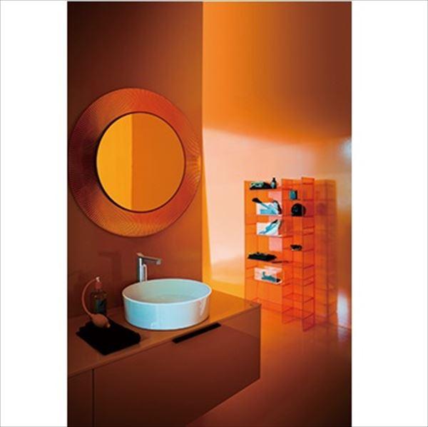 三栄水栓製作所 LAUFEN Kartell 洗面器 SL812331-W-112