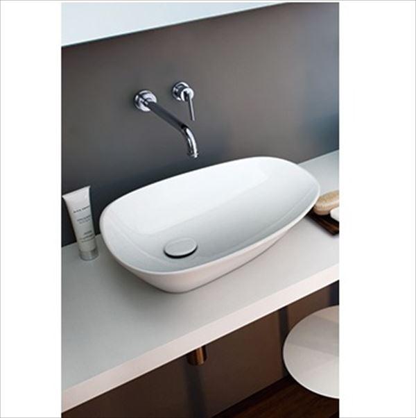 三栄水栓製作所 LAUFEN palomba collection 洗面器 SL816802-W-112