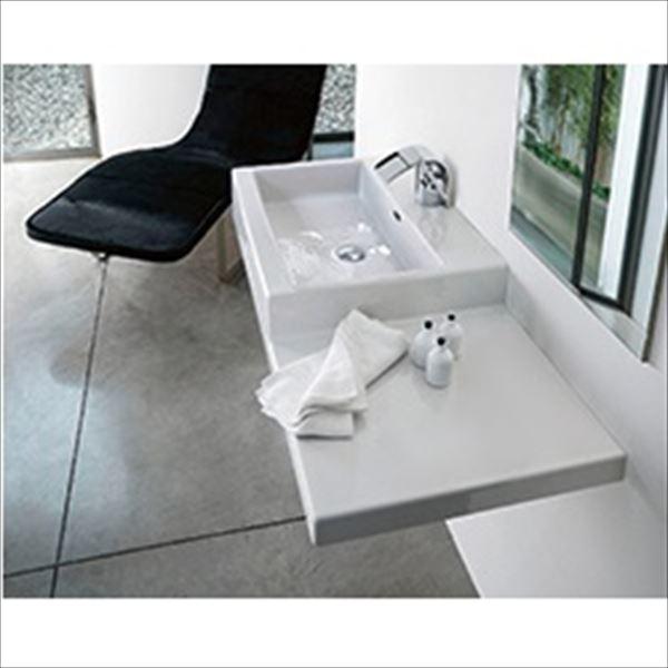三栄水栓製作所 LAUFEN livingcity 洗面器 SL818432-W-104