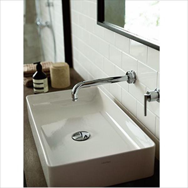 三栄水栓製作所 LAUFEN livingsquare 洗面器 SL811434-W-112