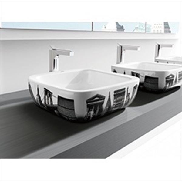 三栄水栓製作所 Roca UrbanNYC 洗面器 SR32765U-W-U