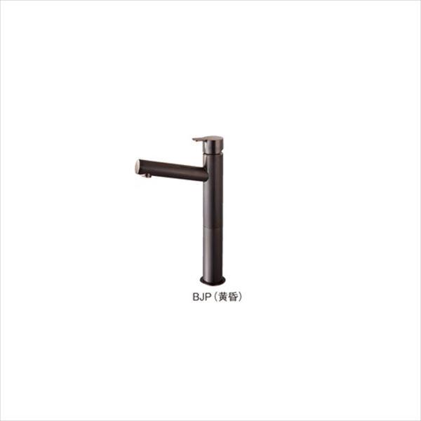 三栄水栓製作所 利楽 立水栓 漆黒(DJP) Y50750H-2T-DJP-13