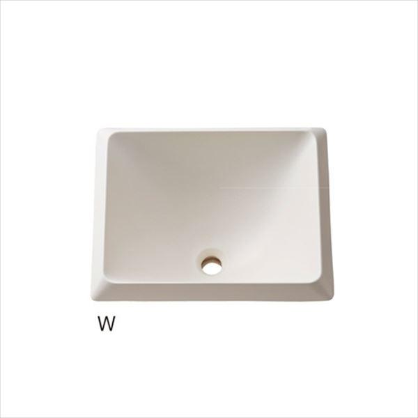 三栄水栓製作所 信楽焼 洗面器 HW10251-W